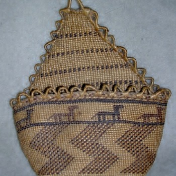 Native American Basket ID - Chehalis? or Apache?