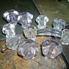 Glass door and drawer pulls