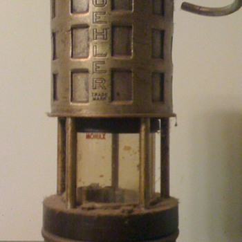 Vintage Koehler 209 permissible Miners Safety Lamp - Lamps