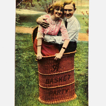 A Basket Party - Postcards