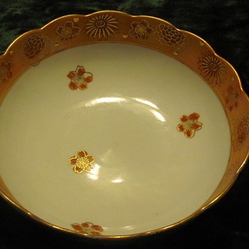 Goldimari hand painted bowl