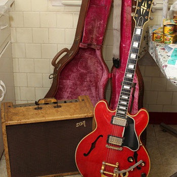 1960 Gibson ES355  W/ ORIGINAL CASE and AMPLIFIER - Guitars