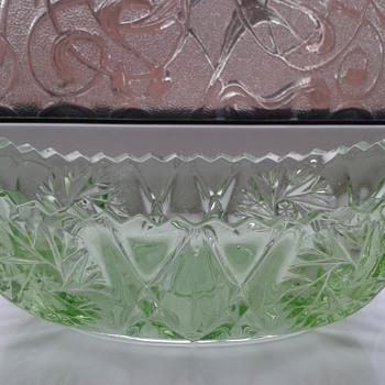 More Green Glass ! - Glassware
