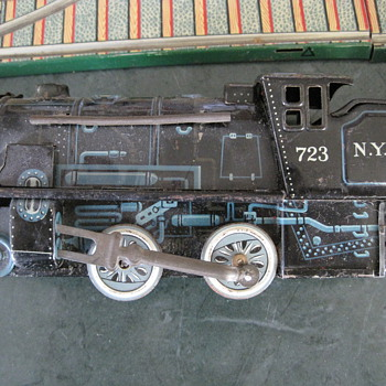 found at garage sale - Model Trains