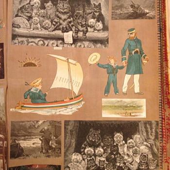 Victorian scrapbook images