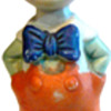 Vintage Pinnochio Bisque Doll