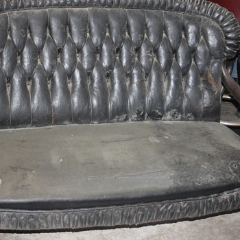 Great vintage sofa.