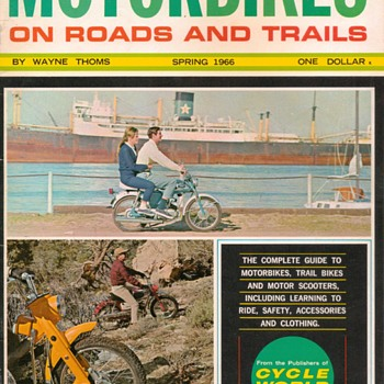 "1966 - ""Motorbikes"" Magazine - (Introductory Issue) - Paper"