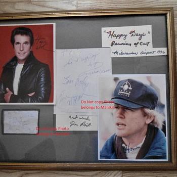 Happy Days Autographs Milwaukee 1999 Erin Moran  - Movies