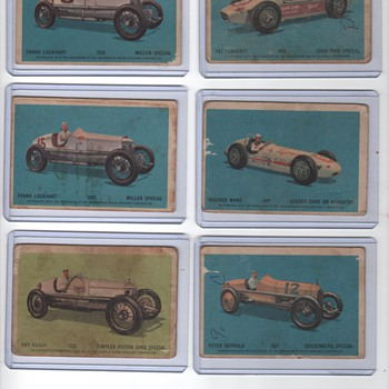 old racing cards - Cards