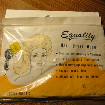 EQUALITY Hair Dryer Hood ( sealed ) - Accessories