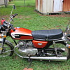 VINTAGE HONDA MOTORCYCLE