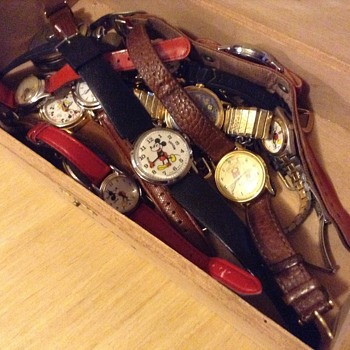 My watch collection - Wristwatches