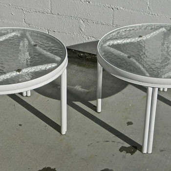 Vintage Patio End Tables
