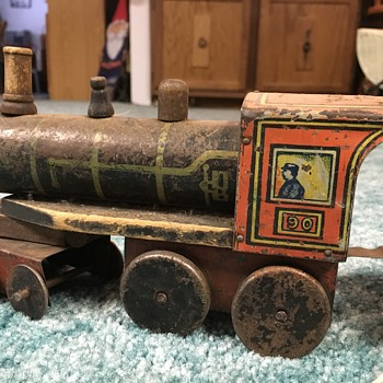 Need information about this antique train!