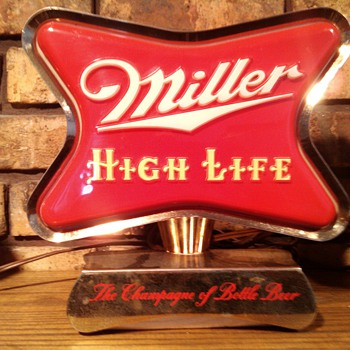1954 Miller High life Cash Register Topper - Breweriana