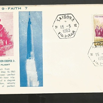 Faith 7 mission postcard