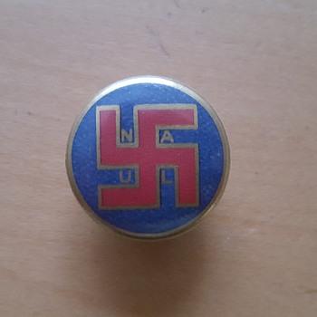 A button from World War 2