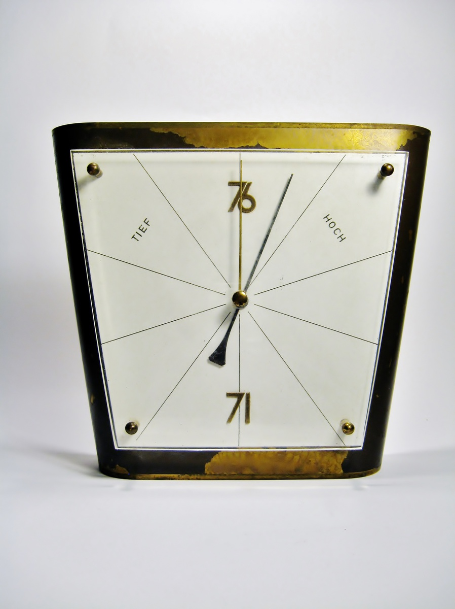original german bauhaus barometer collectors weekly. Black Bedroom Furniture Sets. Home Design Ideas