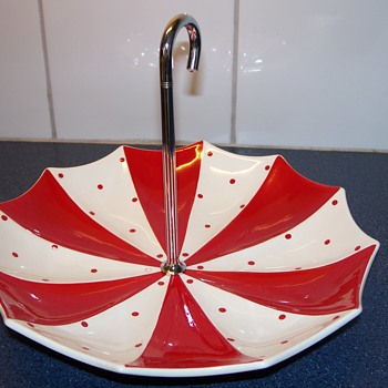 Midwinter umbrella bon bon dish