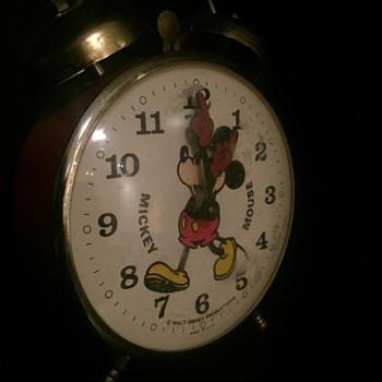 Micky Mouse alarm clock