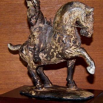 T'ang Horse & Rider - Asian