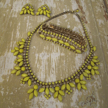 You Say You Like Yellow? - Costume Jewelry