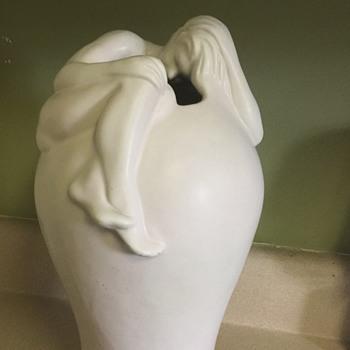 Odd Van Briggle Vase - Pottery