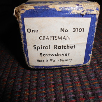 vintage craftsman spiral screwdriver