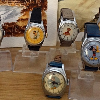WALT DISNEY US TIME/INGERSOLL BIRTHDAY WATCHES