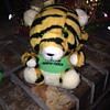 Vintage Plush Tiger