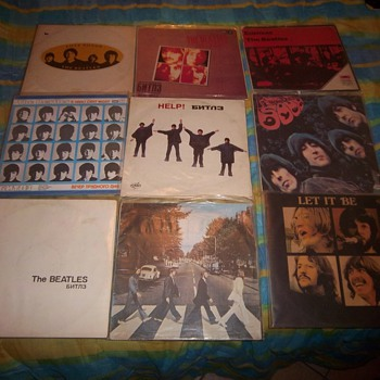 A few interesting Beatles finds