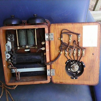 antique telephone - Telephones