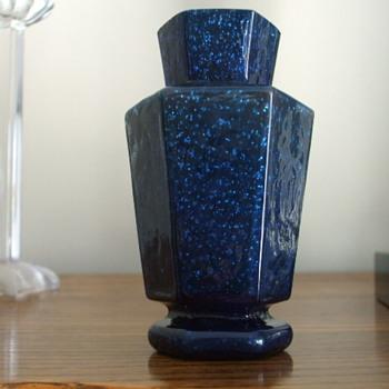 """For """"sklo42"""" Something New to Share- Welz Hexagon Vase - Art Glass"""
