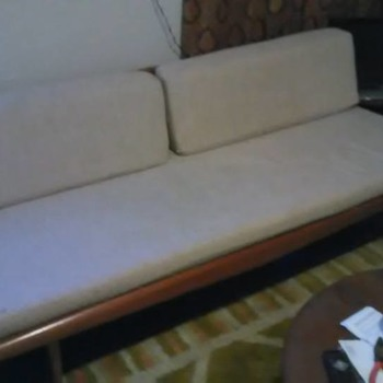 Vintage Adrian Pearsall Platform Sofa from Red Racks - Furniture
