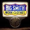 Big Smith Work Clothes Clock