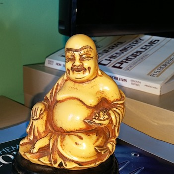 Carved Bone Buddha