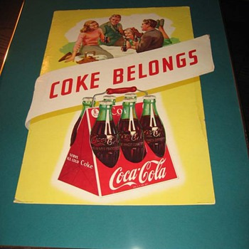 Another Spare Bedroom Coca-Cola Cardboard Discovery...