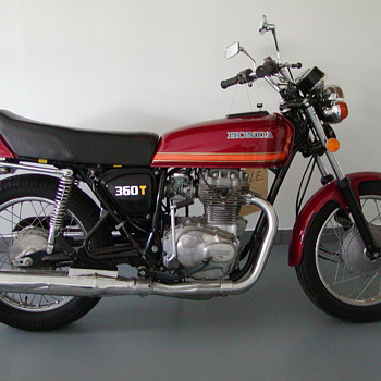 CJ360T HONDA - Motorcycles