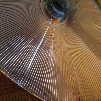 Vintage Holophane Pendant Light