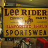 Lee Riders Great Tin Sign