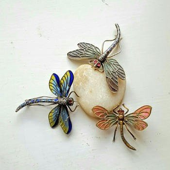 Dragonflies group! - Fine Jewelry