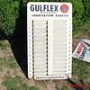 GULFLEX service reminder postcard rack
