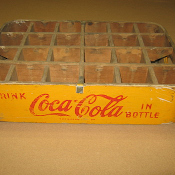 1948 Coca-Cola Wooden Case - Coca-Cola