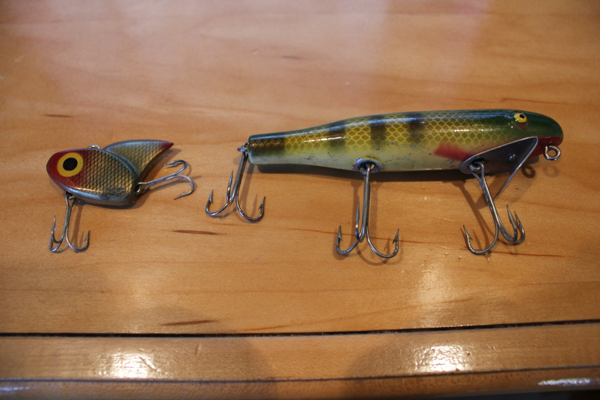 Fishing lures dont know name collectors weekly for Names of fishing lures
