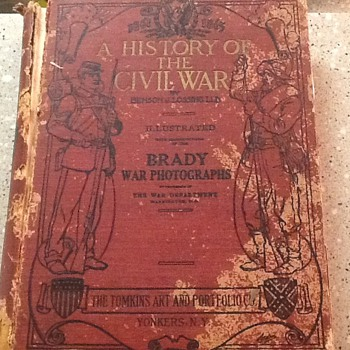 Civil War history book - Military and Wartime