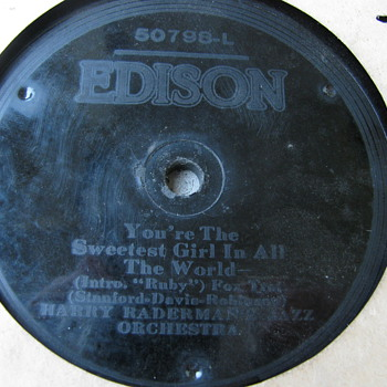 Edison record