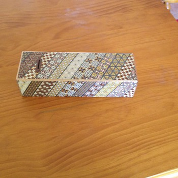 Japanese Puzzle Box - Money Box - Asian