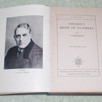 1927 Cheiro's Book of Numbers