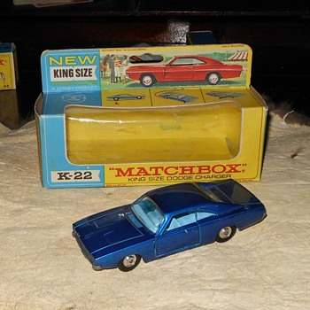Matchbox K-22 Dodge Charger - Model Cars